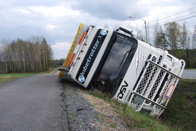 kuorma auton kuljettaja Huittinen