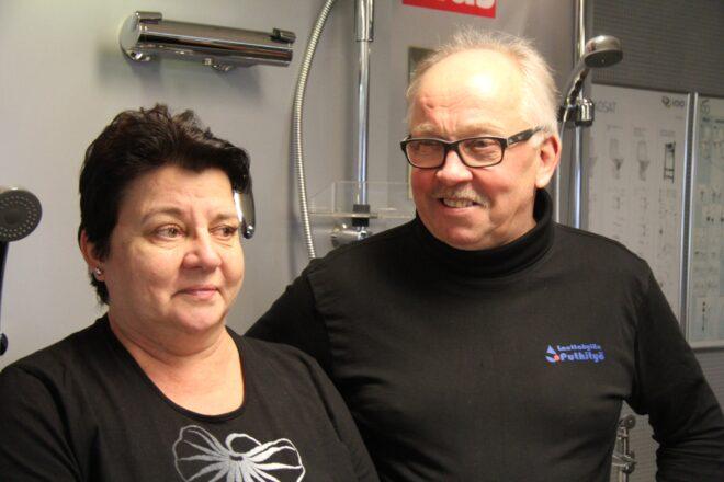 Paula ja Kari Brunnila siirtyivät Lauttakylän Purkityön yrittäjiksi