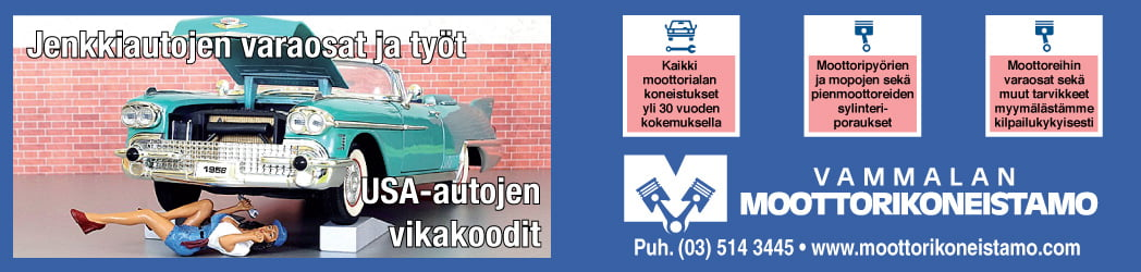 Moottorikoneistamo-banneri
