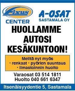 A-Osat Sastamala huhtikuu 2018