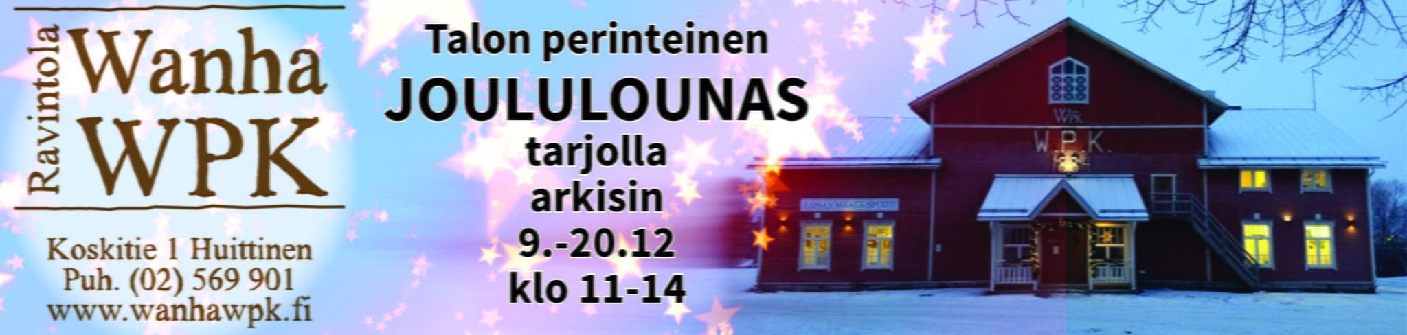 Rajaniemiravintolat Joululounas 9.-20.12.2019