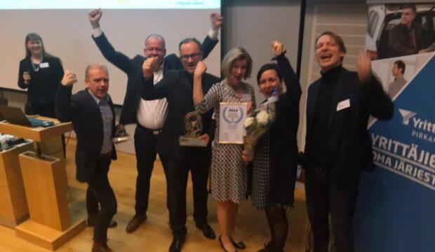 Sastamala voitti Pirkanmaan yrittäjyys- ja elinvoimapalkinnon – Vahva  arvioinnin jokaisella osa-alueella f250dea553