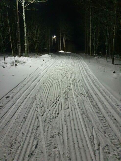 Aurajärvi, latu